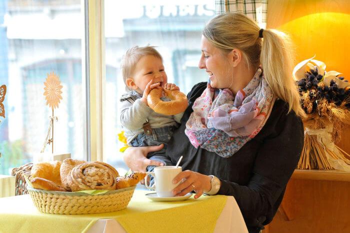 Café in Radstadt - Bäckerei Kirchgasser